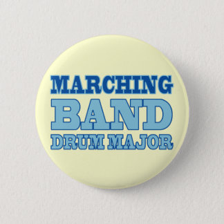 Marching Band Drum Major Button