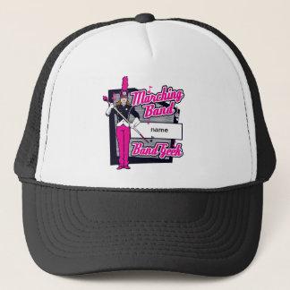 Marching Band Geek Pink Trucker Hat