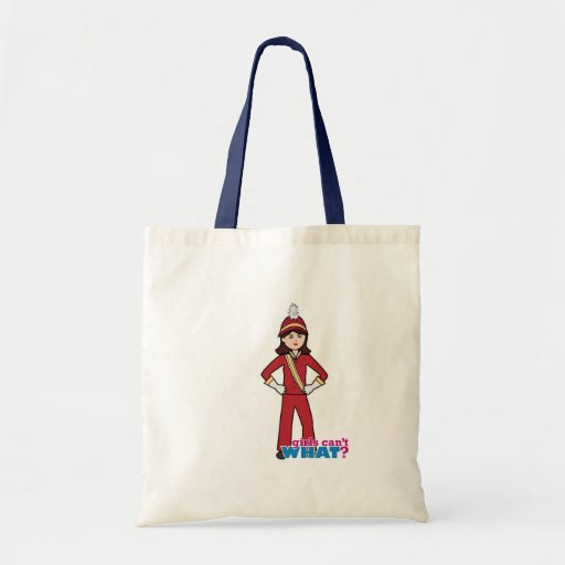 Marching Band Girl Canvas Bags