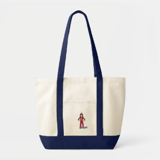 Marching Band Girl Tote Bag