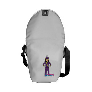 Marching Band Girl -  Medium Courier Bag