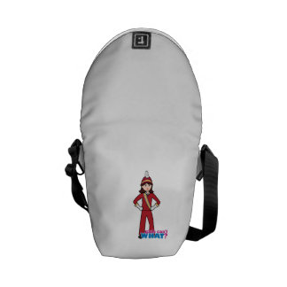 Marching Band Girl Messenger Bag