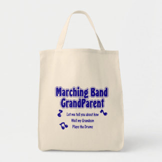 Marching Band Grandparent/ Drums Tote Bag