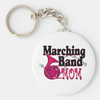 Marching Band Mom/ French Horn Keychain