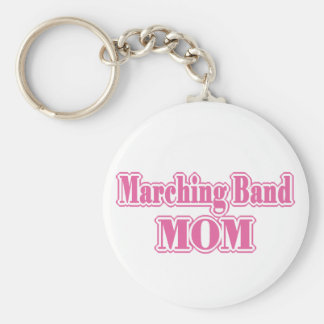 Marching Band Mom Keychain