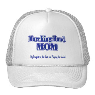 Marching Band Mom/ Quads Trucker Hat