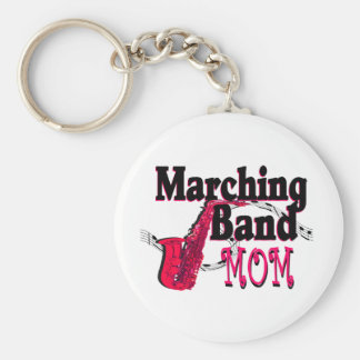 Marching Band Mom/ Saxophone Keychain