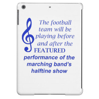 Marching Band Performance 1058 iPad Air Covers