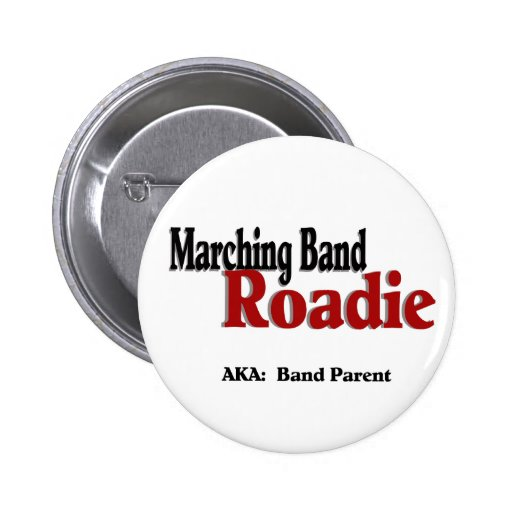 Marching Band Roadie Buttons