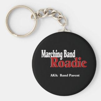 Marching Band Roadie Keychain
