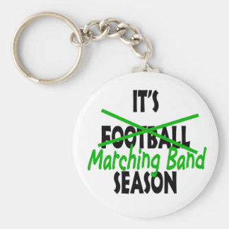 Marching Band Season Keychain