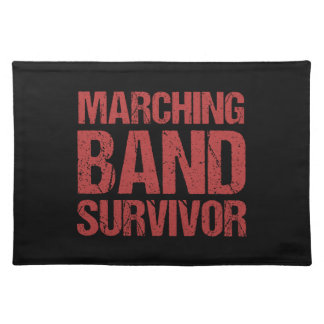 Marching Band Survivor Placemat