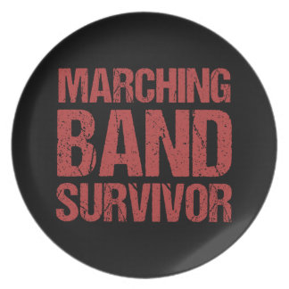 Marching Band Survivor Plate