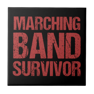 Marching Band Survivor Tile