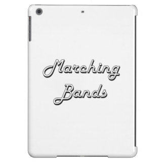 Marching Bands Classic Retro Design Case For iPad Air