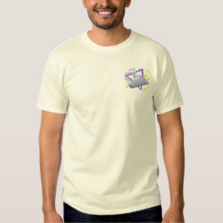 Marching Bells Embroidered T-Shirt