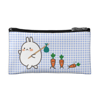 Marching Bunny Cosmetics Bags