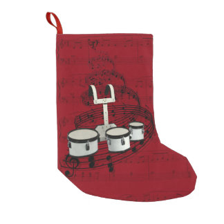 Marching Drums music stocking