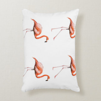 Marching Flamingos Accent Pillow