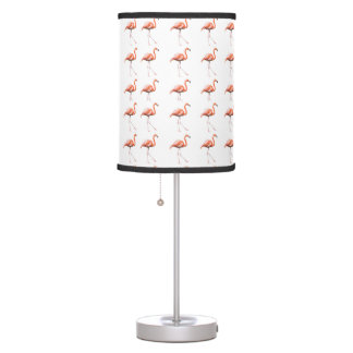 Marching Flamingos Table Lamp