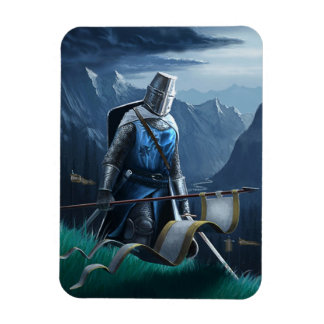 Marching Knight magnet