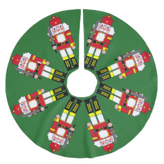Marching Nutcrackers Brushed Polyester Tree Skirt