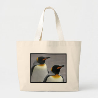 Marching Penguins Canvas Bag