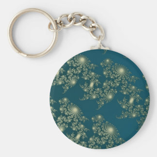 Marching Seahorses 2 Keychain
