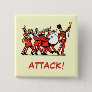 Marching volume 2 inch square button