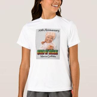 Marcia Griffiths the Reggae Queen-50th Anniversary Tee Shirt