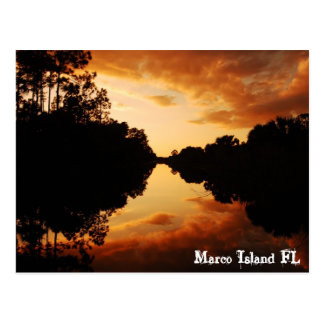 Marco Island FL Postcard