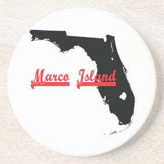 marco island Florida Coaster