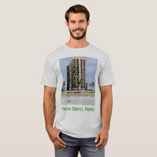 Marco Island, Florida Condo with Palms T-Shirt
