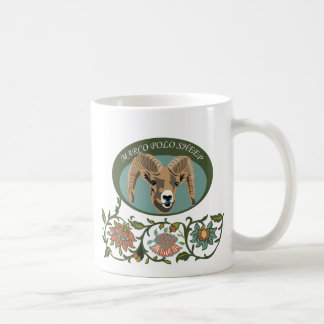 marco polo sheep coffee mug