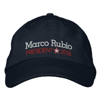 Marco Rubio 2016 Embroidered Hats