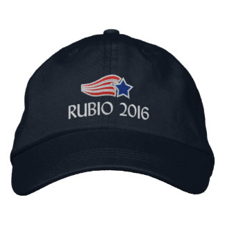 Marco Rubio 2016 Political Campaign Embroidered Embroidered Hats