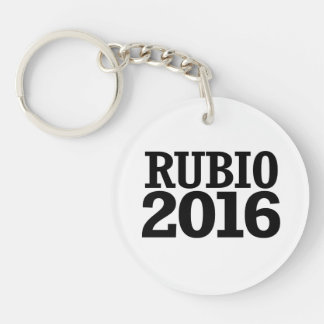 Marco Rubio 2016 Single-Sided Round Acrylic Keychain
