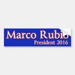 Marco Rubio  for President 2016 Bumper Stickers