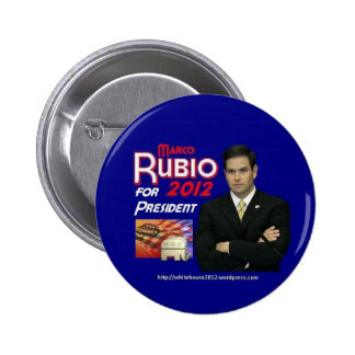 Marco Rubio For president 2 Inch Round Button