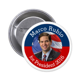 Marco Rubio Photo for President 2016 Button