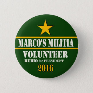 Marco Rubio President 2016 2 Inch Round Button