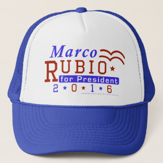 Marco Rubio President 2016 Election Republican Trucker Hat