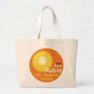 Marco RUBIO Senate 2016 Large Tote Bag