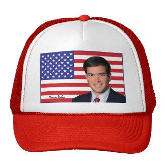 Marco Rubio - Stars & Stripes Trucker Hat