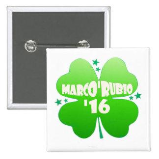 Marco'Rubio 2016 2 Inch Square Button