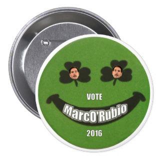 MarcO'Rubio 3 Inch Round Button