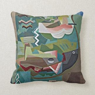 Marcoussis: La Table artwork Throw Pillow