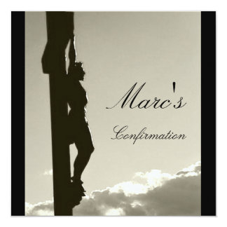 Marc's Confirmation Card