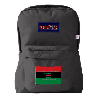 Marcus Garvey Flag Modern Designer backpacks Sale
