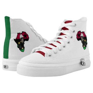 Marcus Garvey High Top Sneakers